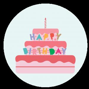 Un gâteau d'anniversaire