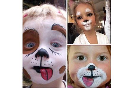 Des exemples de maquillage de chiens