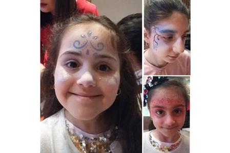 Des exemples de maquillage de princesses