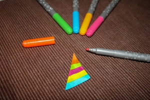 Le coloriage de la voile